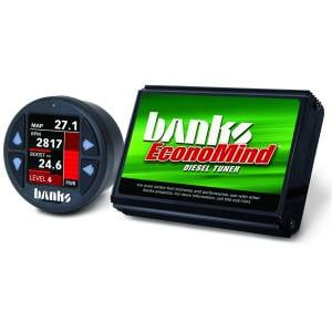 Shop By Part - Programmers & Tuners - Banks Power - Banks Power Economind Diesel Tuner (PowerPack calibration) with Banks iDash 1.8 Super Gauge for use with 2006-2007 Chevy 6.6L, LLY-LBZ