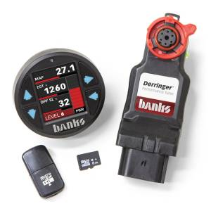 Shop By Part - Programmers & Tuners - Banks Power - Banks Power Derringer Tuner (Gen2) with iDash 1.8 DataMonster 2017-19 Chevy/GMC 2500/3