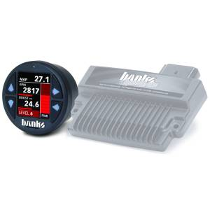 Banks Power - Banks Power Banks SpeedBrake with Banks iDash 1.8 Super Gauge for use with 2006-2007 Chevy 6.6L, LLY-LBZ