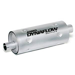Exhaust - Mufflers - Banks Power - Banks Power Stainless Steel Exhaust Muffler 3 Inch Inlet X 3.5 Inch Outlet W/Heatshield