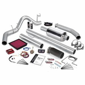 Air Intakes & Accessories - Air Intakes - Banks Power - Banks Power Stinger Bundle Power System W/Single Exit Exhaust Black Tip 99-00 Dodge 5.9L Standard Cab