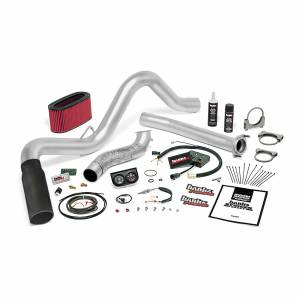 Air Intakes & Accessories - Air Intakes - Banks Power - Banks Power Stinger Bundle Power System W/Single Exit Exhaust Black Tip 95.5-97 Ford 7.3L Manual Transmission