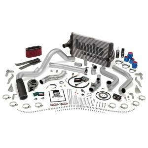 Air Intakes & Accessories - Air Intakes - Banks Power - Banks Power PowerPack Bundle Complete Power System W/OttoMind Engine Calibration Module Black Tail Pipe 94-95.5 Ford 7.3L Automatic Transmission