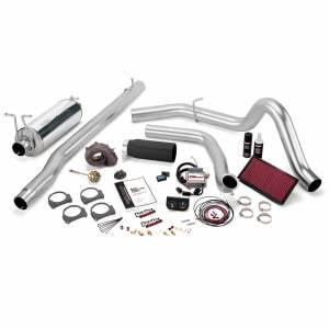 Air Intakes & Accessories - Air Intakes - Banks Power - Banks Power Stinger Bundle Power System W/Single Exit Exhaust Black Tip 01-03 Ford 7.3 275hp 250/350