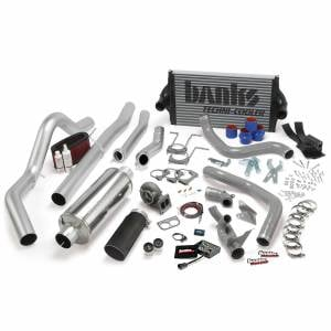 Air Intakes & Accessories - Air Intakes - Banks Power - Banks Power PowerPack Bundle Complete Power System W/OttoMind Engine Calibration Module Black Tail Pipe 94-97 Ford 7.3L CCLB Automatic Transmission