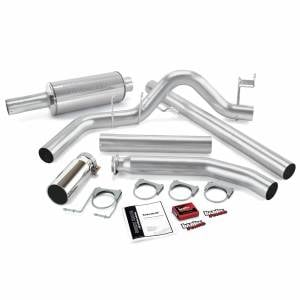 Air Intakes & Accessories - Air Intakes - Banks Power - Banks Power Git-Kit Bundle Power System W/Single Exit Exhaust Chrome Tip 98-00 Dodge 5.9L Standard Cab