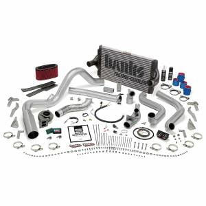 Air Intakes & Accessories - Air Intakes - Banks Power - Banks Power PowerPack Bundle Complete Power System W/OttoMind Engine Calibration Module Chrome Tip 94-95.5 Ford 7.3L Manual Transmission
