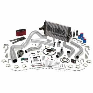 Air Intakes & Accessories - Air Intakes - Banks Power - Banks Power PowerPack Bundle Complete Power System W/OttoMind Engine Calibration Module Chrome Tail Pipe 94-95.5 Ford 7.3L Automatic Transmission
