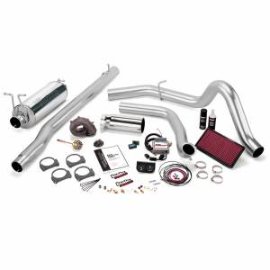 Exhaust - Exhaust Systems - Banks Power - Banks Power Stinger Plus Bundle Power System W/Single Exit Exhaust Chrome Tip 99.5-03 Ford 7.3L F450/F550 Automatic Transmission