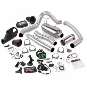 Exhaust - Exhaust Systems - Banks Power - Banks Power Stinger Bundle Power System W/Single Exit Exhaust Chrome Tip 5 Inch Screen 03-06 Ford 6.0L Excursion