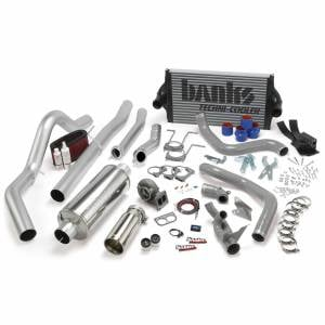 Air Intakes & Accessories - Air Intakes - Banks Power - Banks Power PowerPack Bundle Complete Power System W/OttoMind Engine Calibration Module Chrome Tail Pipe 94-97 Ford 7.3L CCLB Manual Transmission