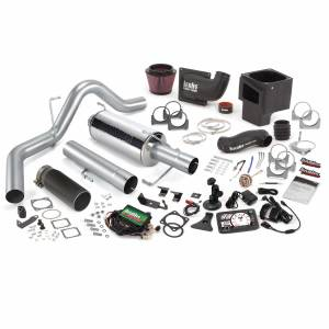 Air Intakes & Accessories - Air Intakes - Banks Power - Banks Power Stinger Bundle Power System W/Single Exit Exhaust Black Tip 5 Inch Screen 06-07 Dodge 325hp CCLB