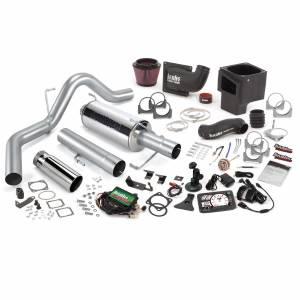 Air Intakes & Accessories - Air Intakes - Banks Power - Banks Power Stinger Bundle Power System W/Single Exit Exhaust Chrome Tip 5 Inch Screen 06-07 Dodge 325hp CCLB