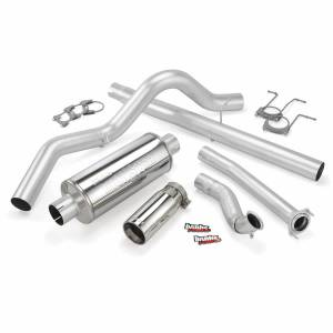 Exhaust - Exhaust Systems - Banks Power - Banks Power Monster Exhaust System Single Exit Chrome Tip 94-97 Ford 7.3L ECSB