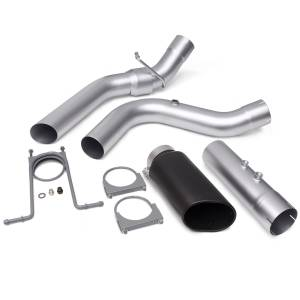 Exhaust - Exhaust Systems - Banks Power - Banks Power Monster Exhaust System 4-inch Single Exit Black Tip 17-18 Chevy 6.6L L5P from