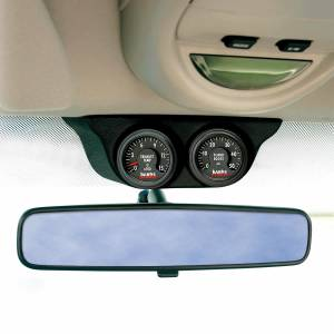 Gauges & Pods - Pods & Mounts - Banks Power - Banks Power Overhead Console Pod 2 Gauges 1999-2006 Chevy Truck Black