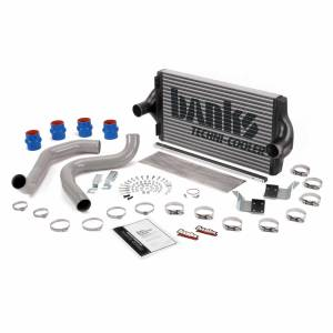 Turbo Chargers & Components - Intercoolers and Pipes - Banks Power - Banks Power Intercooler System W/Boost Tubes Large Aluminum 99.5-03 Ford 7.3L