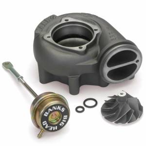 Turbo Chargers & Components - Turbo Charger Accessories - Banks Power - Banks Power Turbo Upgrade Kit 99.5-03 Ford 7.3L Big-Head Wastegate Compressor Wheel Quick Turbo