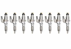 Fuel System & Components - Fuel Injectors & Parts - Dan's Diesel Performance, INC. - DDP Reman LB7 45% Over SAC Fuel Injector Set