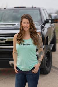DDP Merchandise - Tank Tops - Dan's Diesel Performance, INC. - DDP Women's Duramax Mint Tank Top