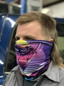 Dan's Diesel Performance, INC. - DDP 80's Retro Neck Gaiter