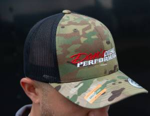 Dan's Diesel Performance, INC. - DDP Black & Multicam SnapBack Hat w/ Full Logo