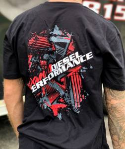 Dan's Diesel Performance, INC. - DDP Black Abstract Logo T-Shirt