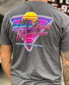 Dan's Diesel Performance, INC. - DDP 80's Gray T-Shirt
