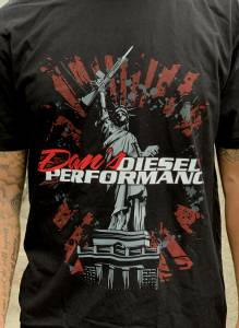 Dan's Diesel Performance, INC. - DDP Lady Liberty Black T-Shirt