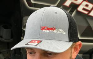 Dan's Diesel Performance, INC. - DDP Black & Gray Large/X-Large Flex Fit Hat w/ Side Logo