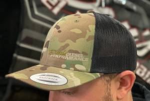 Dan's Diesel Performance, INC. - DDP Black & Multicam SnapBack Hat w/ Side Camo Logo