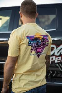 Dan's Diesel Performance, INC. - DDP 80's Yellow T-Shirt