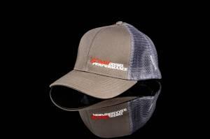 DDP Merchandise - Hats - Dan's Diesel Performance, INC. - DDP Women's Gray High Ponytail SnapBack Hat w/ Side Logo