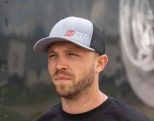Dan's Diesel Performance, INC. - DDP Black & Light Gray SnapBack Hat w/ Abbreviated Logo