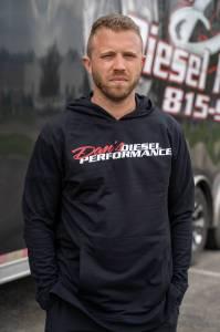 DDP Merchandise - Sweat Shirts - Dan's Diesel Performance, INC. - DDP Black Full Logo Hoodie