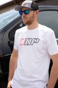 DDP White Abbreviated Logo T-Shirt