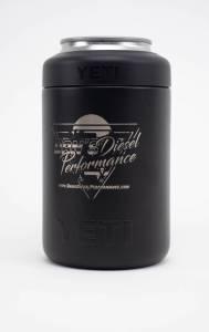 DDP Merchandise - Drinkware - Dan's Diesel Performance, INC. - YETI 12oz Black Dan's Diesel 80's Logo Can Cooler